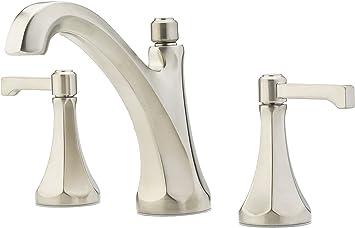 Pfister LG49DE0D Arterra 2-Handle 8 Widespread Bathroom Faucet in Polished Nickel