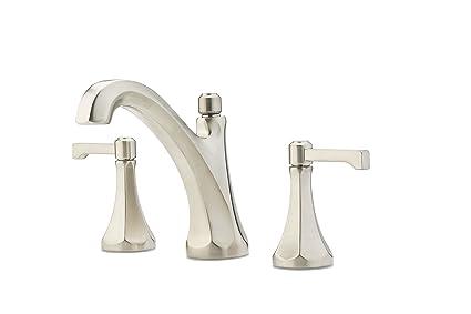 Pfister Arterra 2 Handle 8 Widespread Bathroom Faucet Brushed