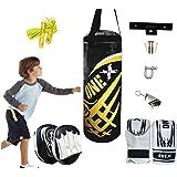 Onex New13pcs Kids Punch Bag Set Kick Boxing Junior Gift Martial Arts Training Mitt