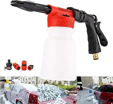 Car Foam Gun >> Cprosp Wash Gun Car Foam Gun Cleaning Sprayer Car Washer 2 In 1 Foam Blaster With 900ml Bottle For Van Motorcycle Vehicle