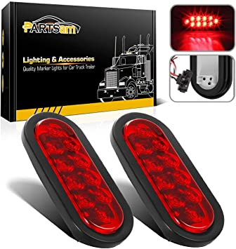 NEW 3 Function Sealed Oval Tail Light Kit