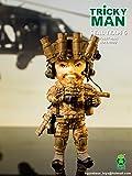 FiGUREBASE(フィギュアベース) TM003 SEALs(シールズ) 6 TEAM RIFLE MAN【特殊部隊 アクション フィギュア 可動フィギュアパーツ】