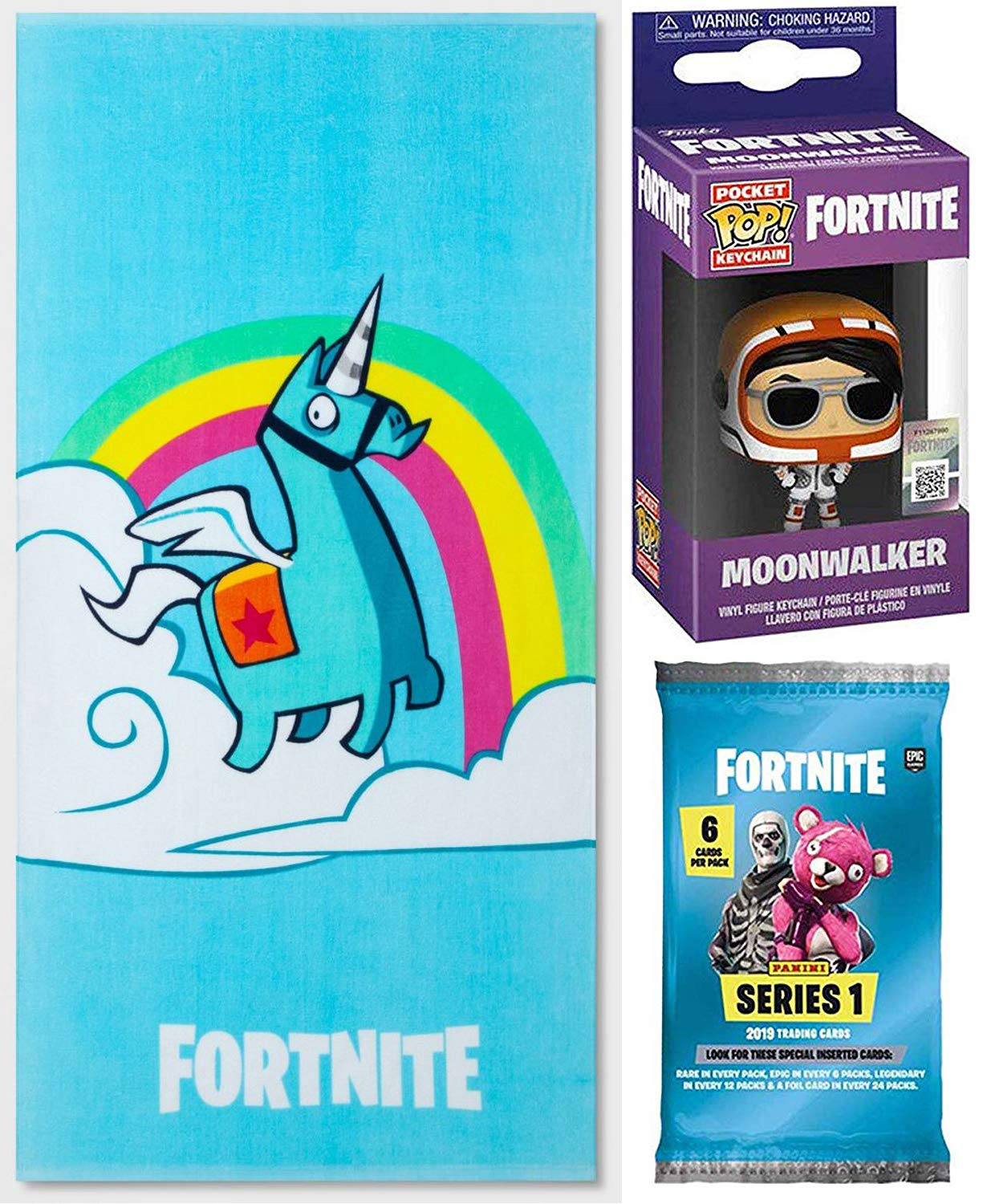 Amazon.com: Fortnite Moon Blue Unicorn Character Bath ...