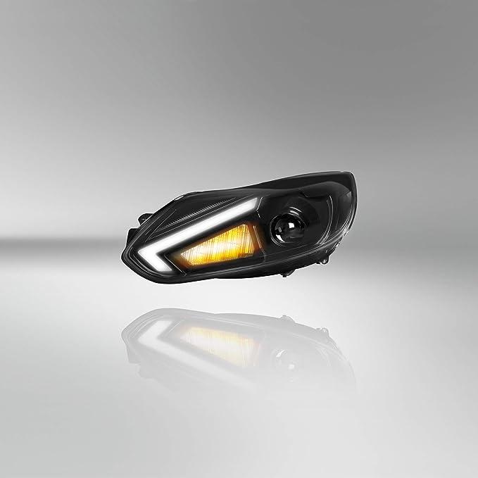 Osram Ledriving Xenarc Scheinwerfer Halogenersatz Zur Umrüstung Auf Led Xenon Ledhl105 Für Linkslenkerfahrzeuge 1 Komplett Set Schwarz Einheitsgröße Auto
