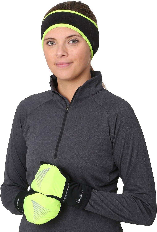 Fleece Earband Winter Running Headband TrailHeads Women/'s Ponytail Headband