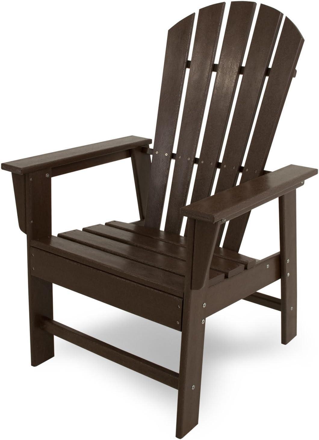 POLYWOOD SBD16MA South Beach Dining Chair, Mahogany