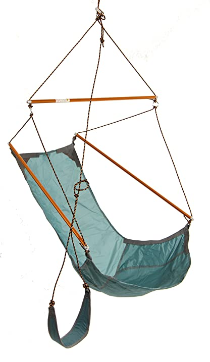 traveller hanging chair teal by byer of maine amazon    traveller hanging chair teal by byer of maine  sports      rh   amazon