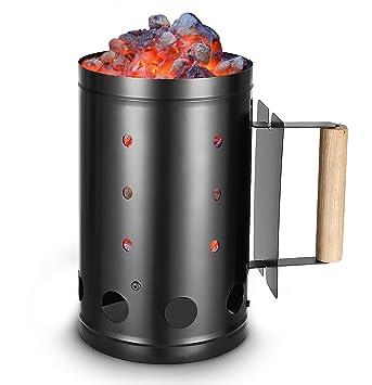 outxpro carbón chimenea Fire Starter - para barbacoa y ...