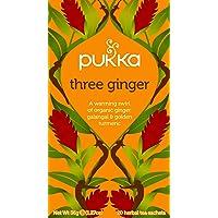Pukka Herbs Three Ginger Tea Bags, x