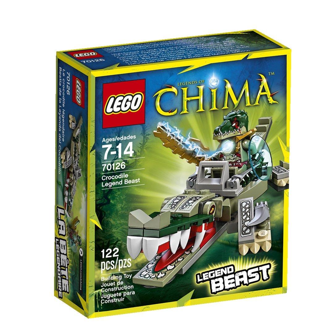 Amazon chima party supplies - Amazon Com Lego Legends Of Chima Crocodile Legend Beast 70126 Toys Games