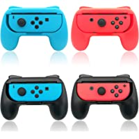 FYOUNG Hand Grips Compatible with Joycons, Grip Handle Kit Compatible with Nintendo Switch/Switch OLED Model Controller…