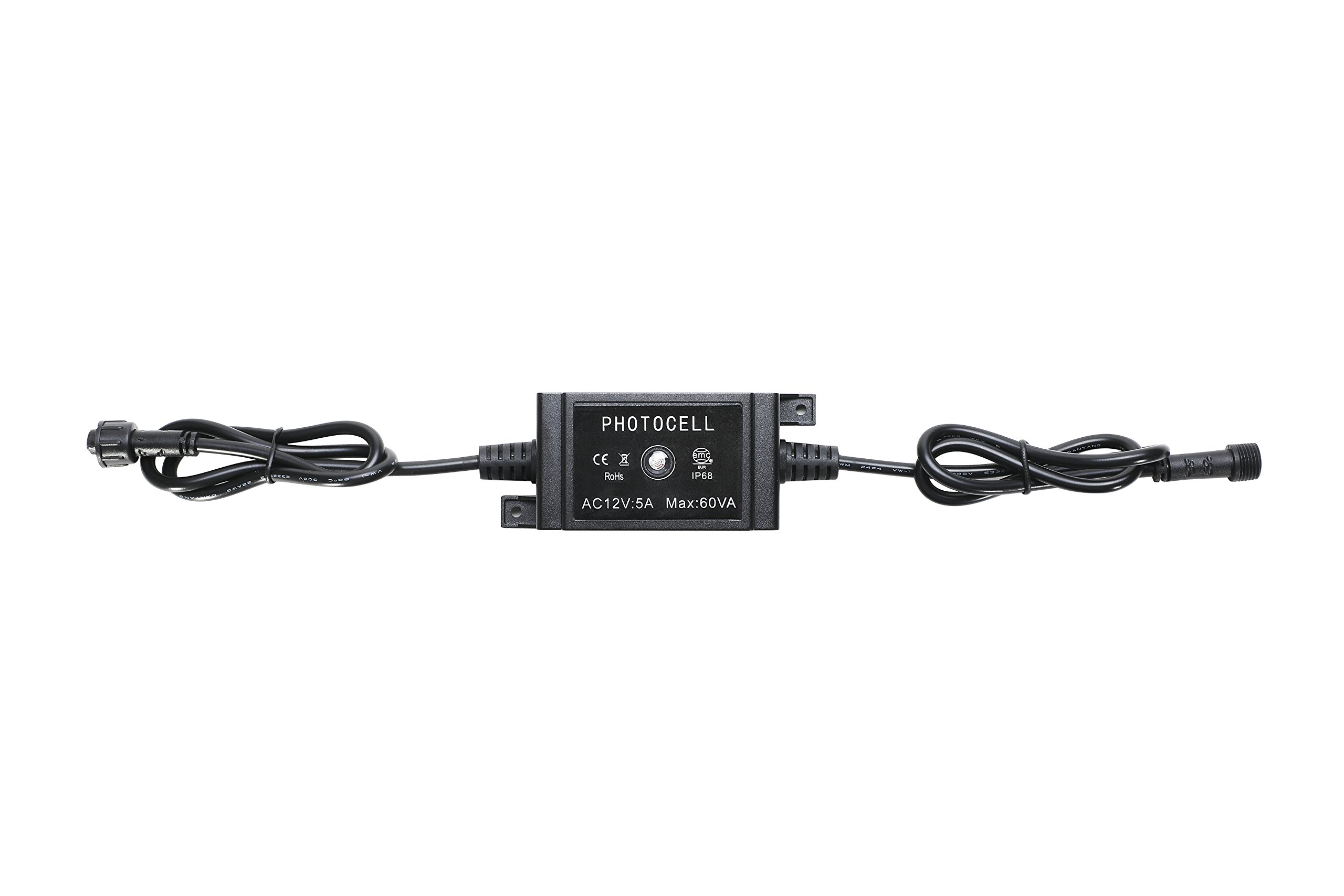 FVTLED LED Photocell DC 12V PC Waterproof IP68 Max.load Power 60W for Outdoor Light Switch Used