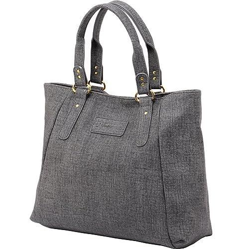 ZMSnow Women s PU Leather Handbags Lightweight Tote Casual Work Bag, ... 7c884373cc