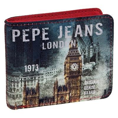 Pepe Jeans Cartera, Diseño London, Color Azul, 0.19 litros: Equipaje