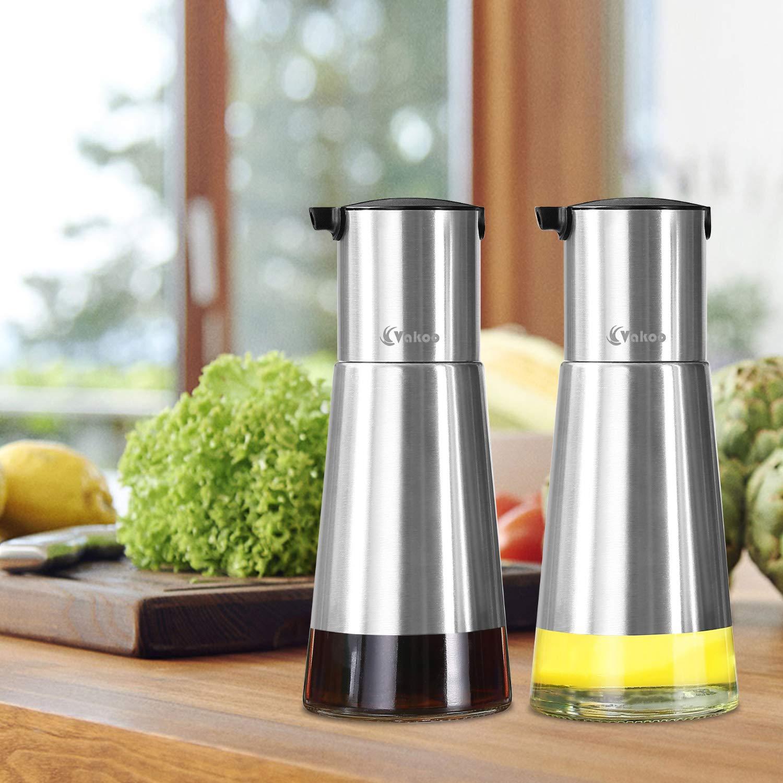 Amazon.com: Cocina dispensador de aceite – Vakoo dispensador ...