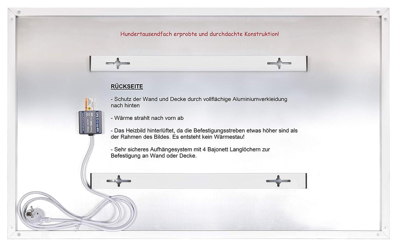certificado CE ROHS SAA radiador panel de calefacci/ón 1029 60 x 100 cm plana calefacci/ón el/éctrica Calefacci/ón por infrarrojos de 600 W