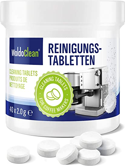 Cleaning Tablets For Coffee And Espresso Machine Pack Of 40 Cleaner Suitable For Automatic Coffee Makers And Capsule Machines