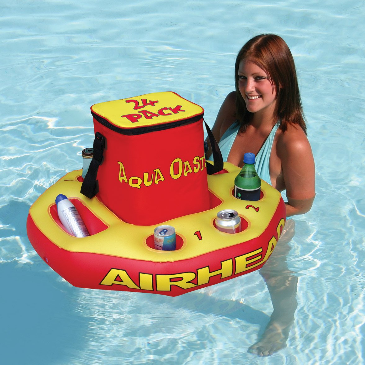 AIRHEAD Aqua Oasis Insulated Cooler with Removable Floating Base