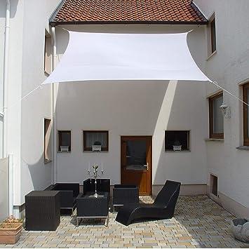 Dekowelten Luxus Terrassen Sonnensegel Viereck Der Extraklasse 3x3m