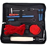 Piano Tuning Kit, UMsky 11 Pieces Piano Tuning Tools Including Tuning Hammer Mute Wrench Hammer Handle Kit Tools and…