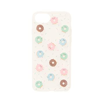 Mr. Wonderful Funda Smartphone - Diseño Exclusivo Mini Rosquillas Compatible con Apple iPhone 7/8