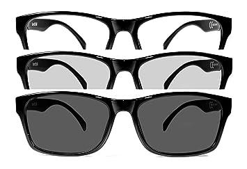 Gafas de estilo neutro antirreflejo azules y fotocromáticas. Gafas para monitor