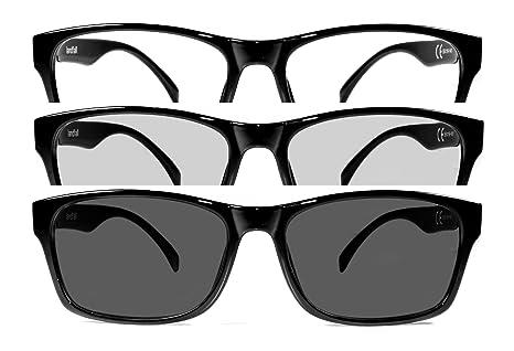Gafas de estilo neutro antirreflejo azules y fotocromáticas. Gafas para monitor de PC, smartphone, ...