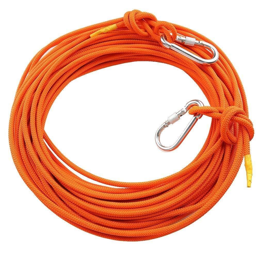 Orange ZSMPY équipement De Plein Air Corde d'escalade Sauvage Corde De Survie Bracelet De Survie Corde Corde Bracelet Corde ZS 10m