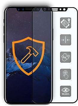 Urcover Cristal Templado Apple iPhone X Bordes Curvos, Protector ...
