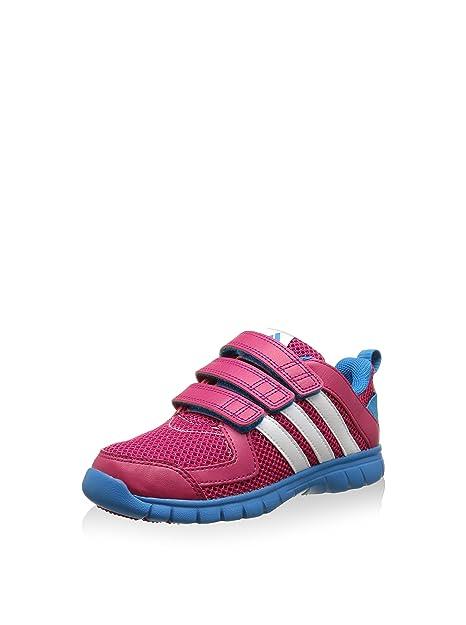 adidas Sta Fluid 3 CF K, Zapatillas-ADIDAS-B23936-Niño para Niños, Rosa/Blanco/Azul, 33 EU: Amazon.es: Zapatos y complementos