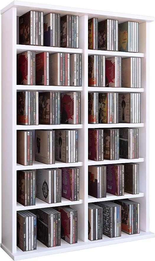 VCM Ronul-Torre para CD/DVD, para 300 CDs, sin Puerta de ...