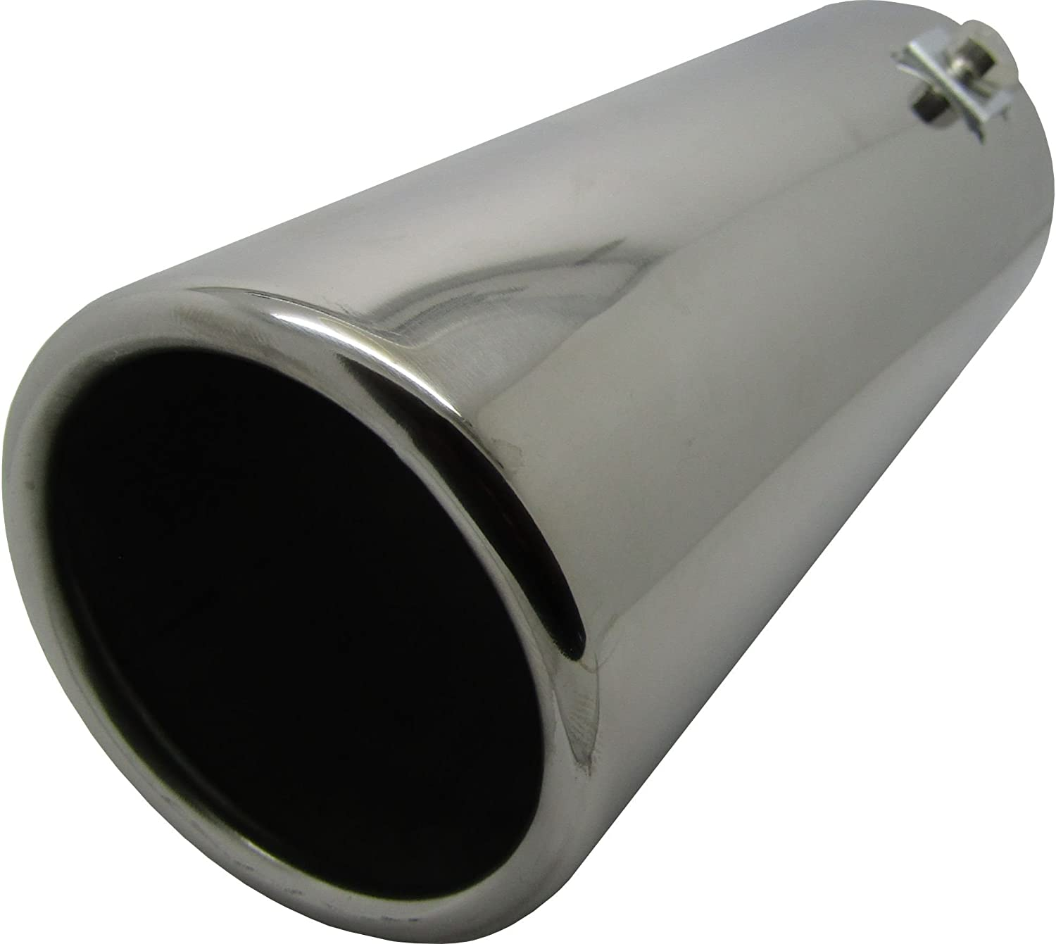Fits 89mm XtremeAuto/® Big Bore Round Straight Exhaust Tail Pipe Bumper End Tip