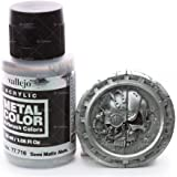 "Acrylicos Vallejo 32ml ""Semi Mat en aluminium"" Couleur métal"