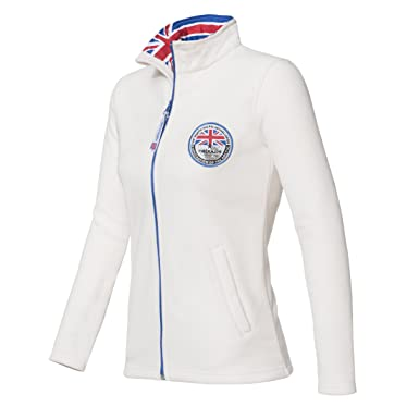 Nebulus Apollo (Q1793) – Outdoor Fleece Jacket with Union Jack Design -  Women -