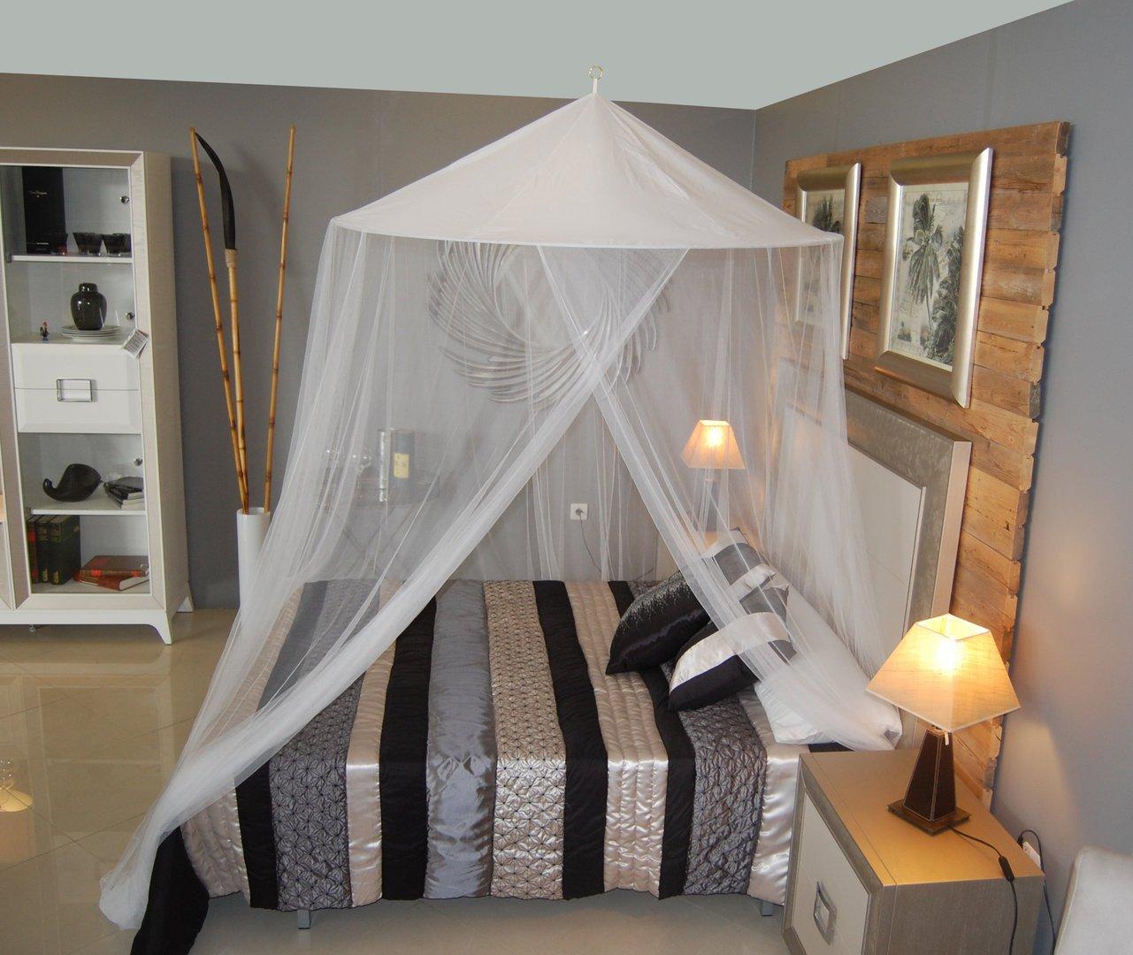 Mosquitera para cama grande King Bangla 150x250x1.200cm