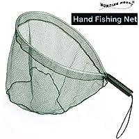Fly Fishing Landing Handle Net Nylon Mesh Trout