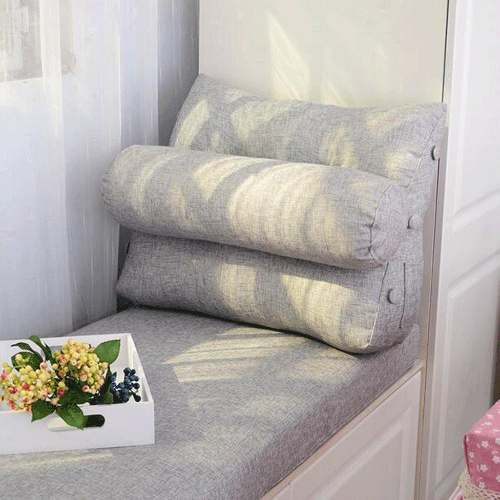moda classica QZz Triangolo Cuscini rossoondi Cuscino Candy Cuscino Cuscino Cuscino Cuscino Cuscino Comodino Borsa Morbida Ufficio della Vita Car Pillow Cuscino può Essere Lavato e Lavato (colore   A, Dimensioni   60  50  20cm)  outlet in vendita