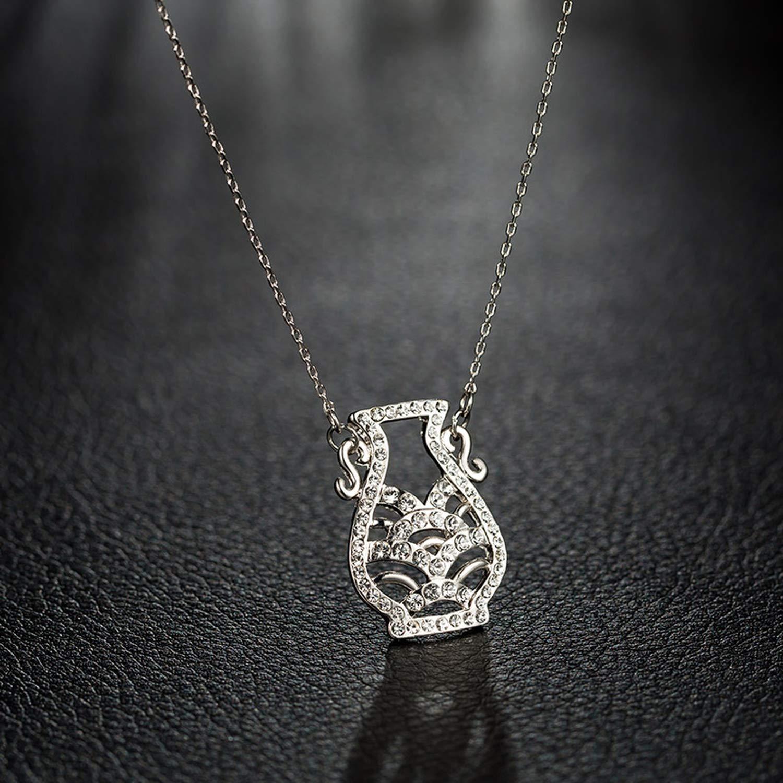 Rhinestone Necklaces Wedding Jewelry Birthday Gift Girl Friend 2019 New