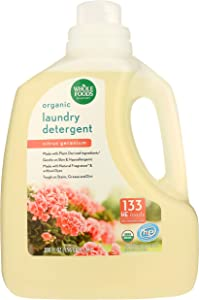 Whole Foods Market, Organic Laundry Detergent (133 HE Loads), Citrus Geranium, 100 Fl Oz