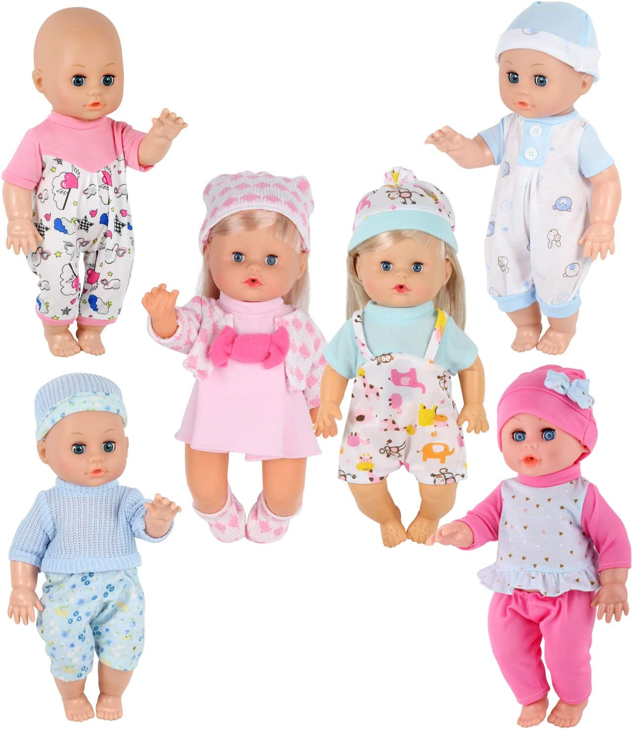 "Newborn Clothes Mini Reborn Little Baby Girl Clothing Gifts For 10/""-11/'/' Dolls"