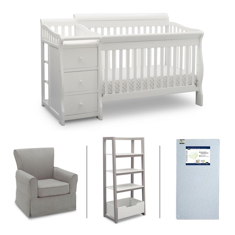 Sensational Amazon Com Delta Children Nursery Furniture Set Including Andrewgaddart Wooden Chair Designs For Living Room Andrewgaddartcom