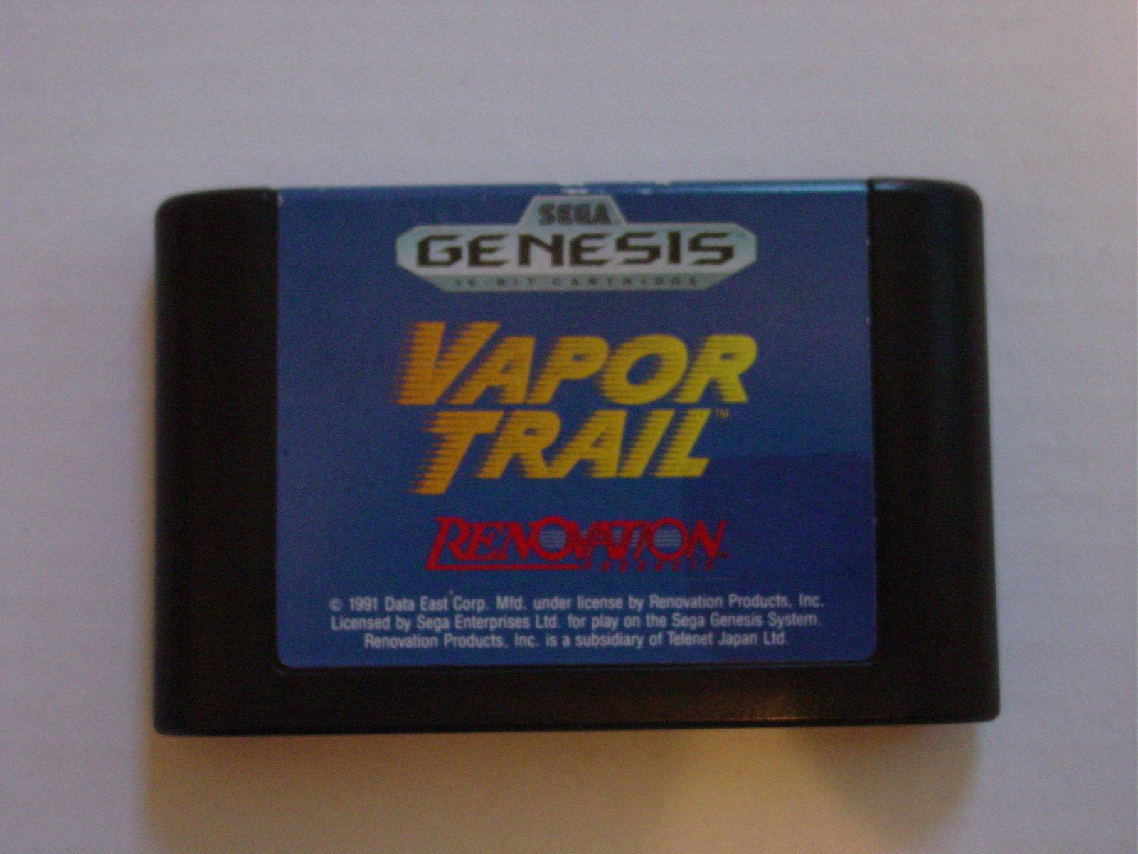 Amazon com: Vapor Trail - Sega Genesis: Video Games