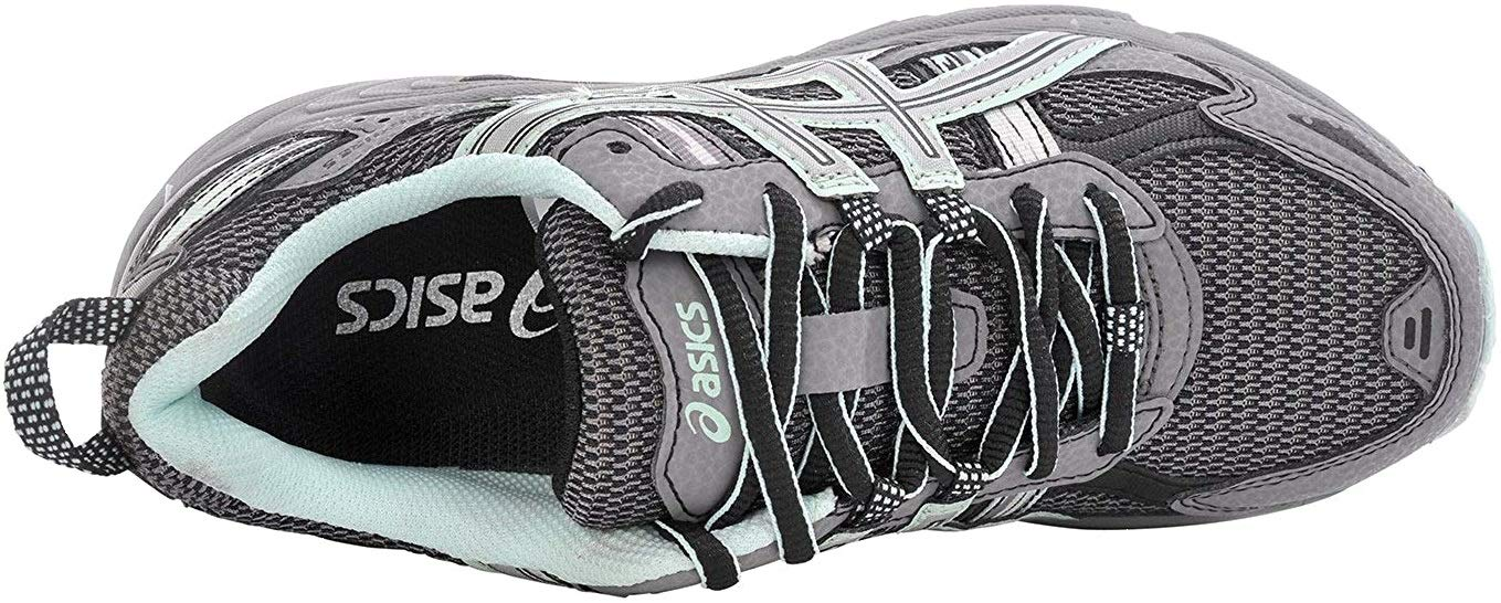ASICS Women's Gel-Venture 5 Trail Running Shoe, Frost Gray/Silver/Soothing Sea, 6 M US by ASICS (Image #6)