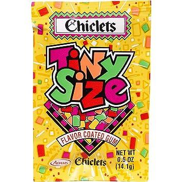 Amazon.com : Cadbury Adams Chiclets tiny Size fruit flavored ...