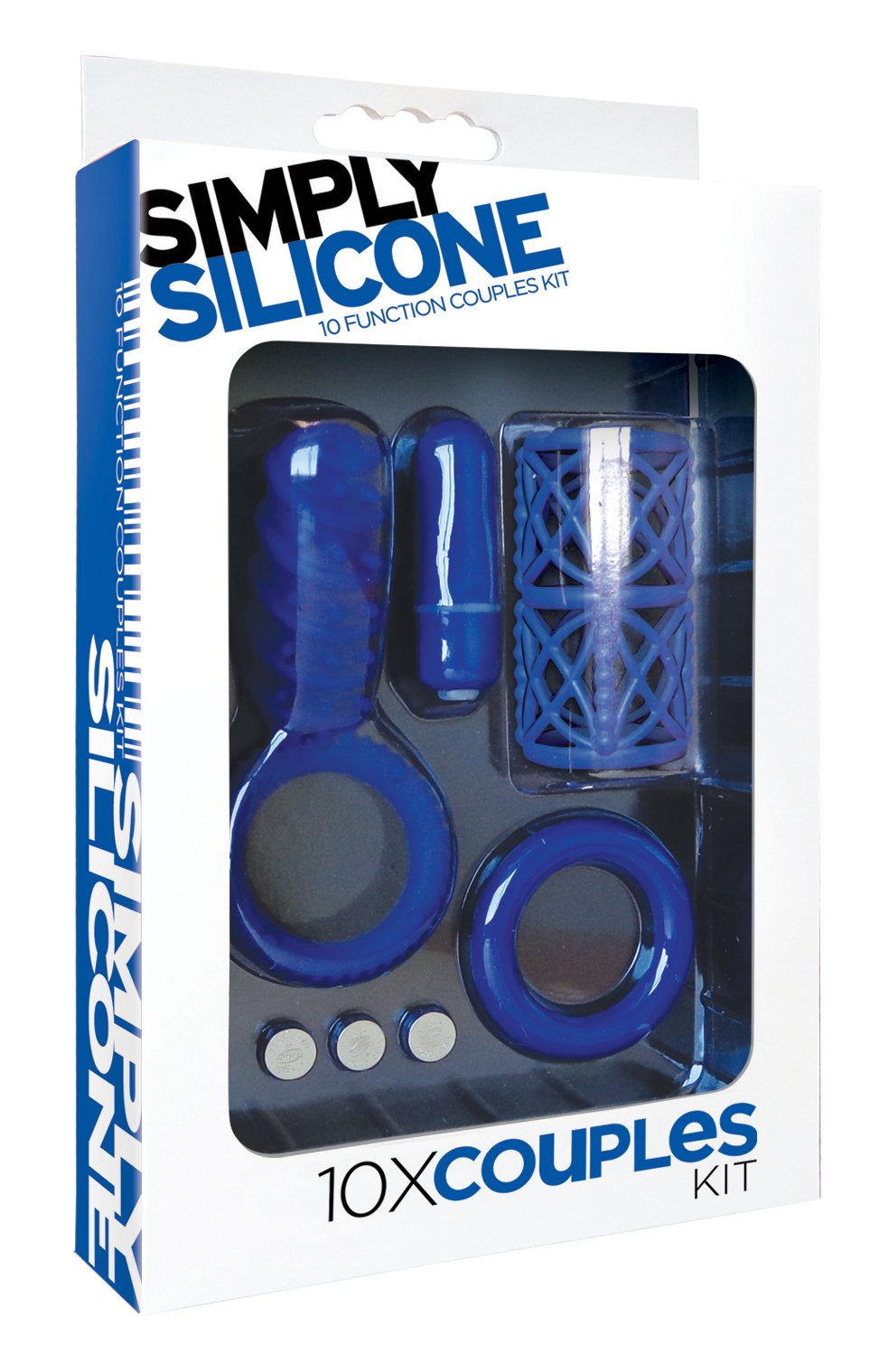 Icon Brands Simply Silicone 10X Couples Kit