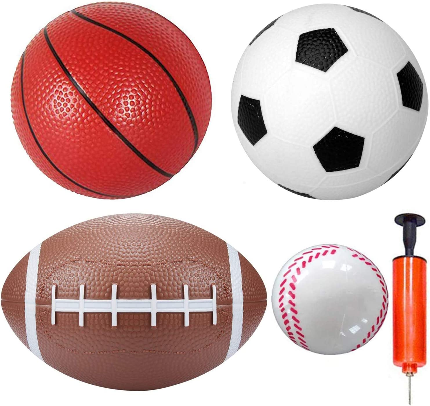 8.5/'/' Kids Mini Inflatable Basketball Indoor//Outdoor Sports Ball Kids Toy Gift