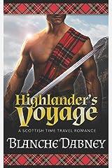 Highlander's Voyage: A Scottish Time Travel Romance Paperback