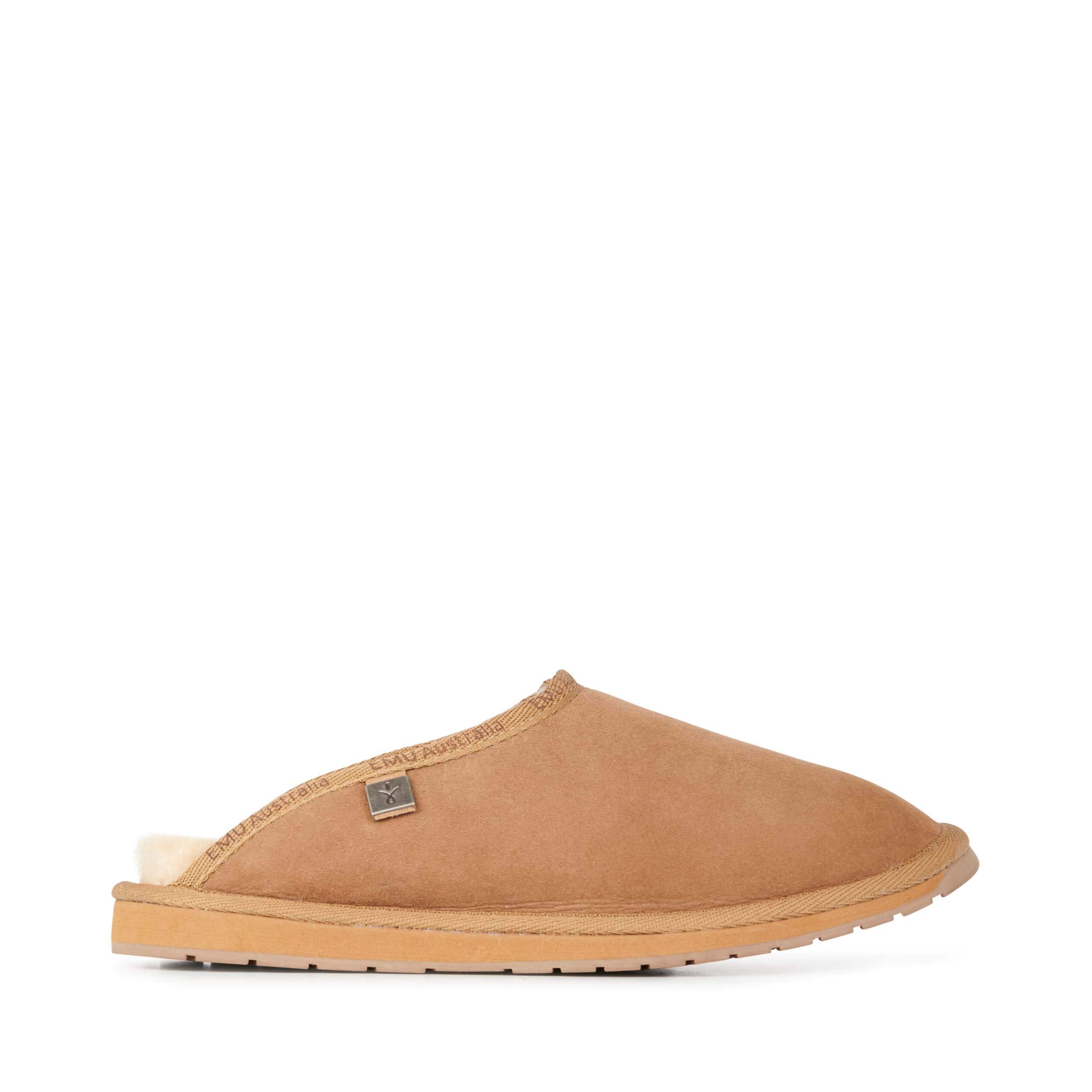 EMU Australia Mens Slippers Platinum Esperence Sheepskin Slipper Size 12