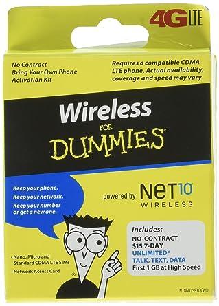 Amazon.com: 5-in-1 kit de activación Tarjeta SIM de prepago ...