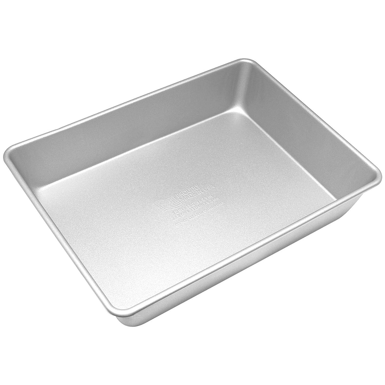 Elements Aluminized Lasagna Pan, Gray 164AS